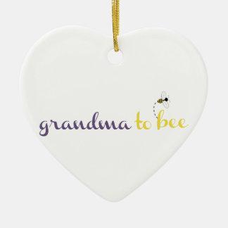 Grandma To Bee Christmas Ornaments