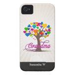 Grandma Tree of Life Hearts iPhone 4 Cover