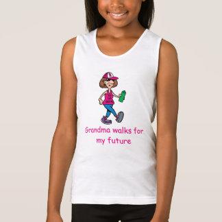 Grandma Walks for my Future Girl's T-shirt