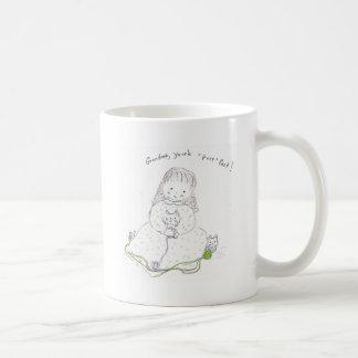 "Grandma you're ""purr""-fect! coffee mug"