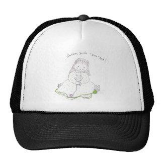 "Grandma you're ""purr""-fect! trucker hat"