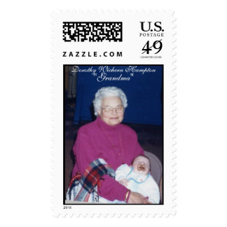 "grandmadot, Dorothy Wichern Hampton, ""Grandma"" Stamp"