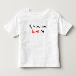 Grandmama Loves Me Toddler T-shirt