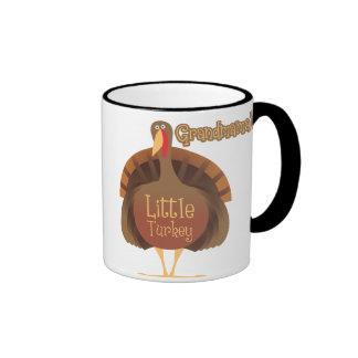 Grandmama's Little Turkey Ringer Mug