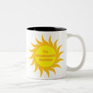 Grandmama's Sunshine Two-Tone Coffee Mug