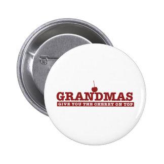 Grandmas 2 Inch Round Button