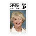 Grandma's 80th postage stamp