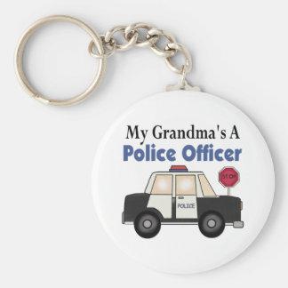 Grandma's A Police Officer Key Chain