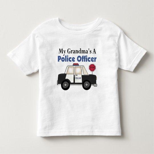 Grandma's A Police Officer Toddler T-shirt