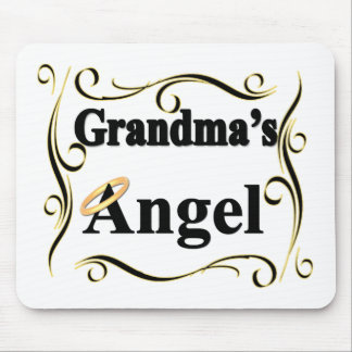 Grandma's Angel Gifts and Apparel Mouse Pad