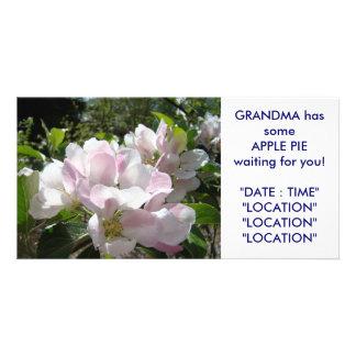 GRANDMA'S Apple Pie Card Announcement Invitations