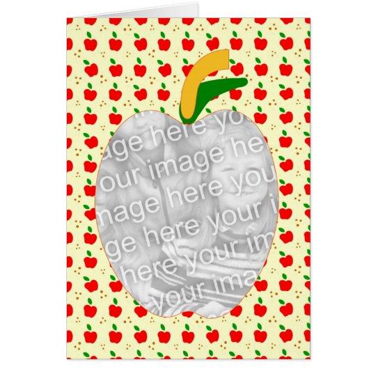 Grandma's Apple Pie Recipe Card