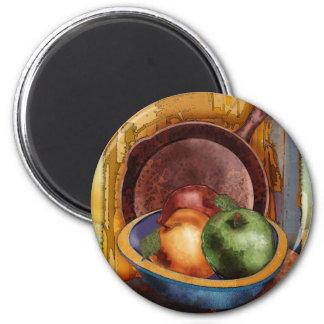 Grandma's Apples 2 Inch Round Magnet