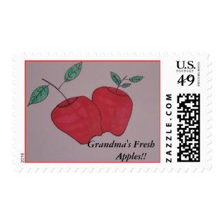 grandmas apples postage