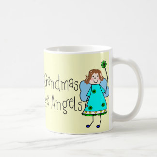 Grandmas Are Angels Gifts Coffee Mug