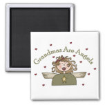 Grandmas Are Angels T-shirts and Gifts Refrigerator Magnet