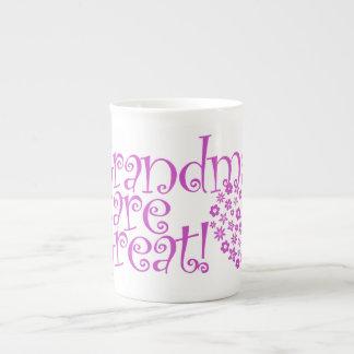Grandmas are Great Porcelain Mugs