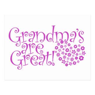 Grandmas are Great Postcards