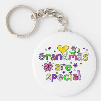 Grandmas are Special Keychain