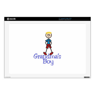 "Grandmas Boy 17"" Laptop Decals"