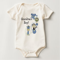 Grandma's Boy Baby Shirt