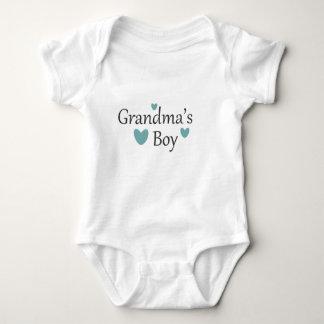 Grandma's Boy Baby T Shirt