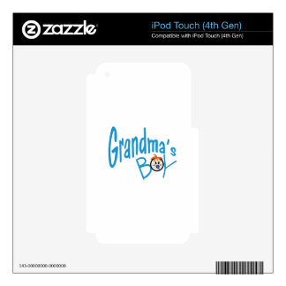 Grandmas Boy Decals For iPod Touch 4G