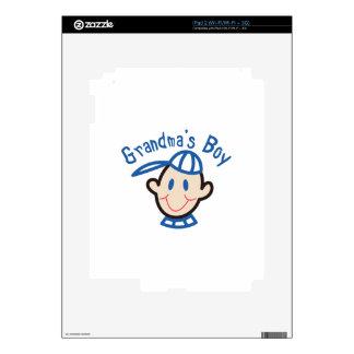 Grandmas Boy iPad 2 Skins