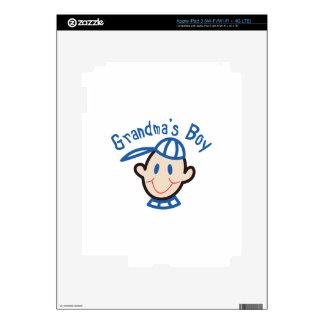 Grandmas Boy iPad 3 Decal