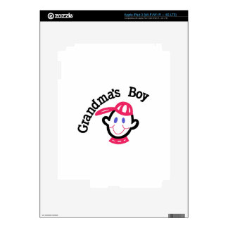Grandmas Boy iPad 3 Decals