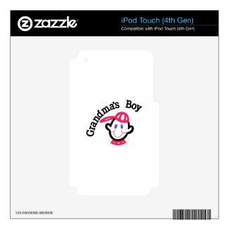 Grandmas Boy Skins For iPod Touch 4G