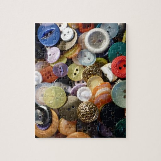 Grandma's Buttons Jigsaw Puzzle