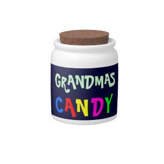 GRANDMAS CANDY jar