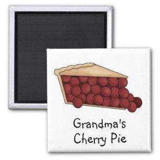Grandma's Cherry Pie Magnet