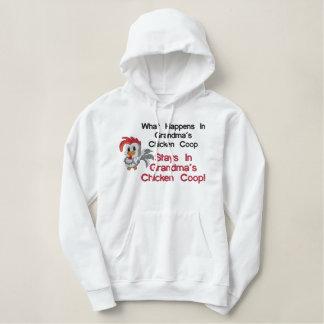Grandma's Chicken Coop Embroidered Shirt