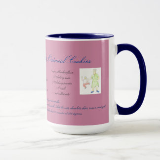Grandma's Chocolate Chip Raisin Oatmeal Cookie Mug