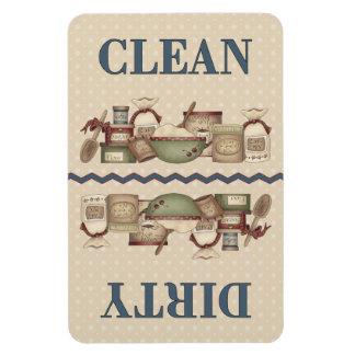 Grandma's Clean/Dirty 4x6 in. Rectangular Photo Magnet