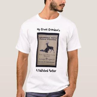 Grandmas cookbook T-shirt