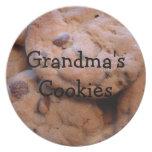 Grandmas Cookies Dinner Plate