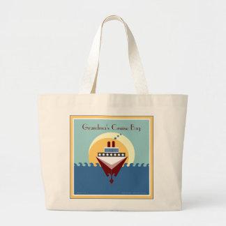 Grandma's Cruise Bag - Cruise Ship Tote Bag