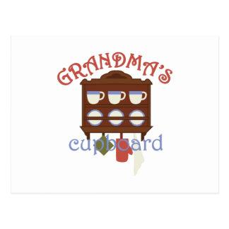 Grandmas Cupboard Postcard