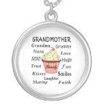 Grandma's Cupcakes For Grandmothers Pendant