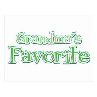 Grandma's Favorite Postcard