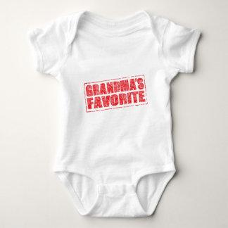 Grandma's Favorite rubber stamp image T-shirt