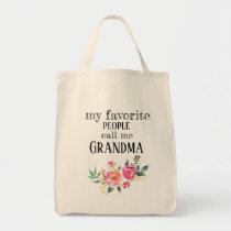 Grandma's favorite Tote (personalized with names)