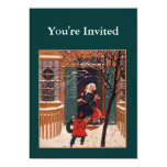 Grandma's for the holidays 5x7 paper invitation card