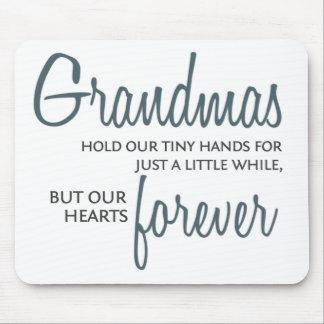 Grandmas Forever blue Mouse Pad