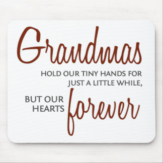 Grandmas Forever red Mouse Pad