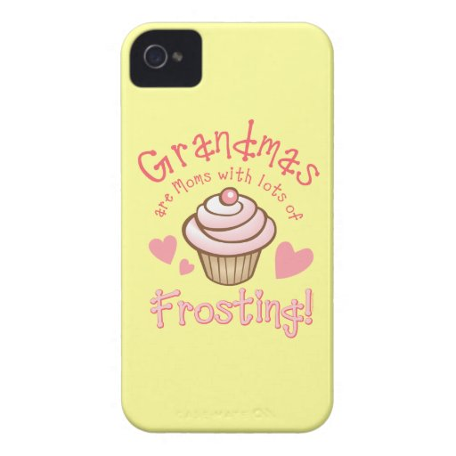 Grandma's Frosting iPhone 4G Case iPhone 4 Covers