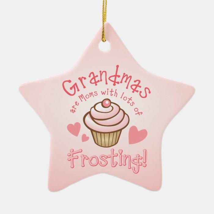 Grandma's Frosting Personalized Ornament